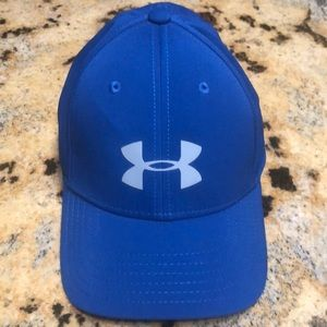 Youth under armor small blue cap